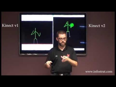 Kinect for Windows v1 vs v2 - Skeleton Tracking
