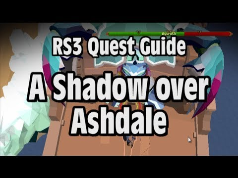 RS3: A Shadow over Ashdale Quest Guide - RuneScape - YouTube