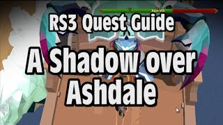 RS3: A Shadow over Ashdale Quest Guide - RuneScape