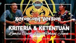 KRITERIA & KETENTUAN LOMBA COVER LAGU ROHANI JAWA || KPPM JEMAAT PENIWEN