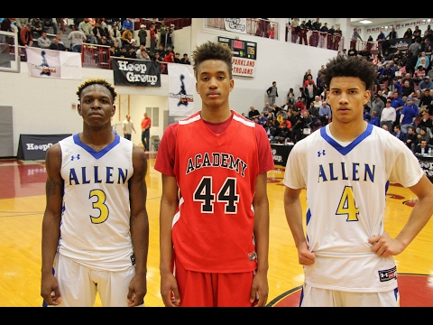 WILLIAM ALLEN vs ALBANY ACADEMY (Talek Williams/Tyrese Martin) 1/29/17