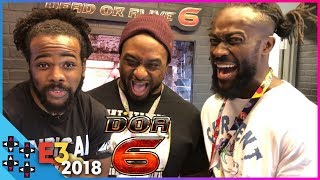 E3 2018: THE NEW DAY faceoff in DEAD OR ALIVE 6! - UUDD Vlogs