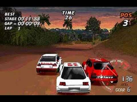 V-RALLY On Sony Ericsson P800, Symbian 7, UIQ 2.