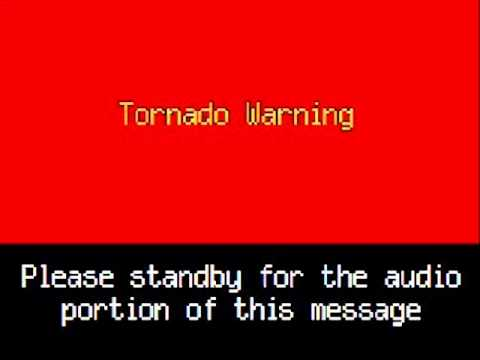 Emergency alert tornado warning, basic emergency preparedness course