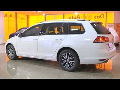 volkswagen golf sw 1 4 tsi 125 bluemotion technology s rie sp ciale allstar dsg7 blanc pur youtube. Black Bedroom Furniture Sets. Home Design Ideas