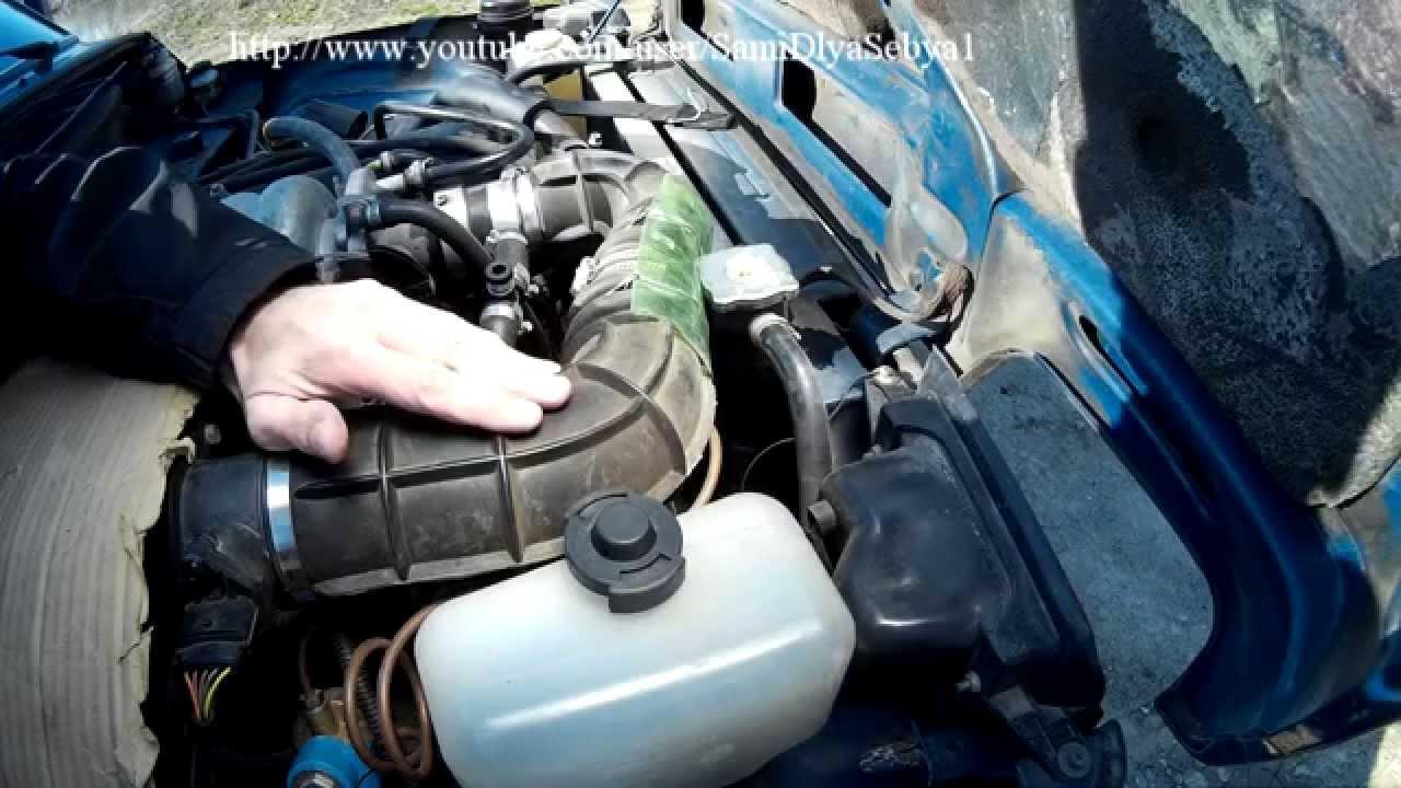 niva chevrolet в систему охлаждения попадает масло