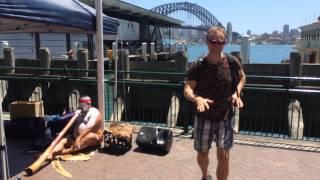 Sydney. Aborygen dance.