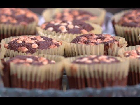 مافن الشوكولاته بالبرتقال والزبيب والقرفه وبالموز | سارة عبد السلام | سنة اولي طبخ PNC FOOD