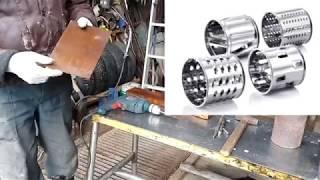 оТВЕТ ПОДПИСЧИКУ:  Как сделать барабан для терки? / how to create a grater