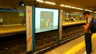 アキーラさん利用①スペイン・マドリッドの地下鉄1号線乗車,首絞め強盗?Metro,Madrid,Spain