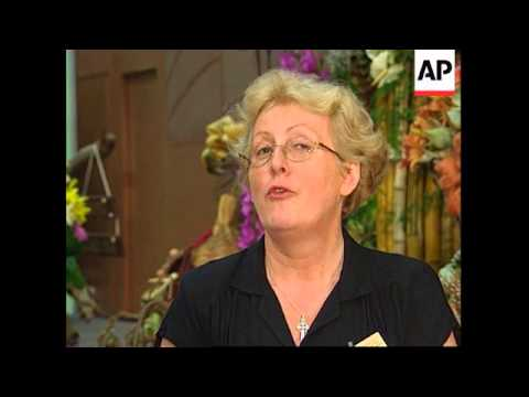 SOUTH AFRICA: INTERNATIONAL FLOWERSHOW OPENS IT'S DOORS