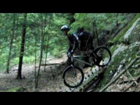 Nepaug Mountain Biking - Slow Motion