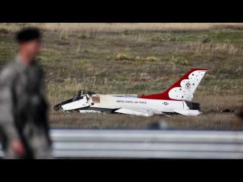 Audio of Thunderbirds pilot just before crash in Colorado Springs
