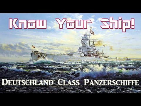 World of Warships - Know Your Ship #12 - Deutschland Class P