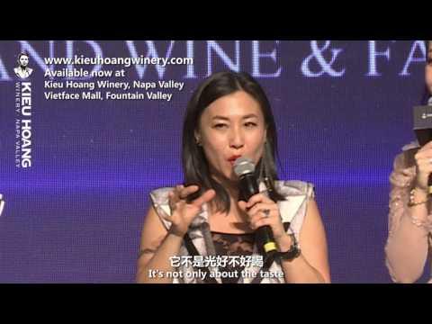Kieu Hoang Winery Events + Li Bingbing ENG