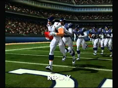 NFL Blitz 2003 - Denver Broncos at San Diego Chargers (1st Half)