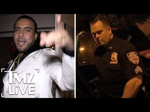 French Montana Taunts NYPD (TMZ Live)