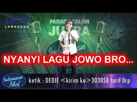 GOKIL ABIS!!! Nyanyi Lagu Jawa Di INDONESIAN IDOL 2018