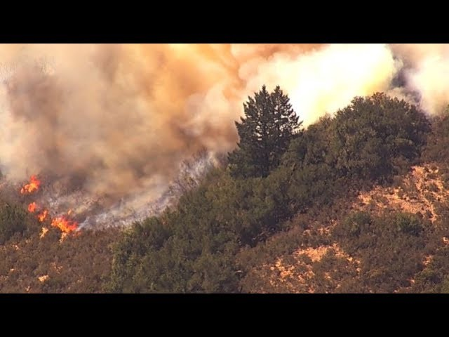 California wildfire prompts mandatory evacuations – WATCH LIVE