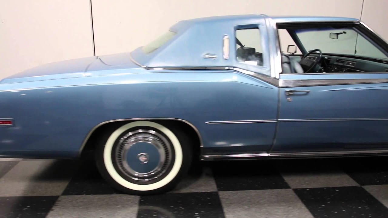 2657 Atl 1978 Cadillac Eldorado Biarritz Youtube Sedan Deville 4 Door