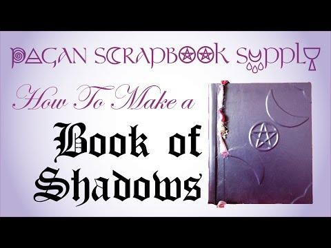 How To Make a Book of Shadows - Pagan Scrapbook Supply