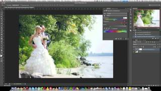 Обработка свадебной фотографии в Adobe Photoshop CS6 / Retouching wedding photography