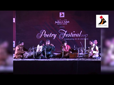 Nazar Mujhse Milati Ho - Ahmad Hussain & Mohammad Hussain at Jashn-e-Adab's Poetry Festival 2017