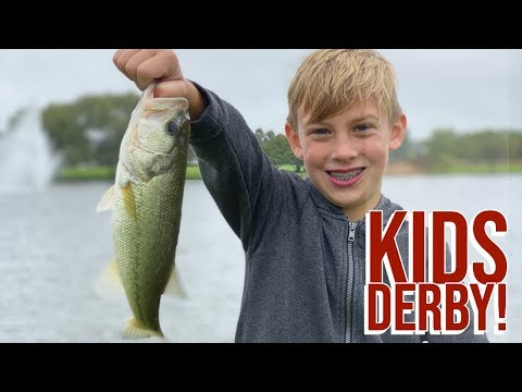High Stakes Kids Fishing Derby