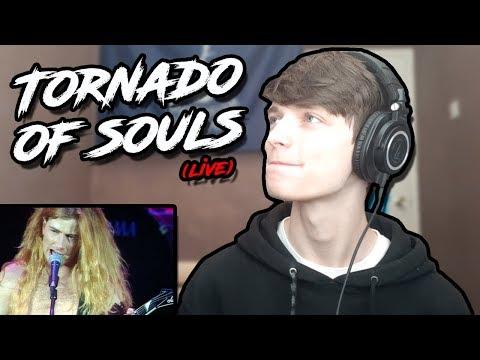 Megadeth - Tornado of Souls (Live 1992) HIP HOP HEAD REACTION/DISCUSSION