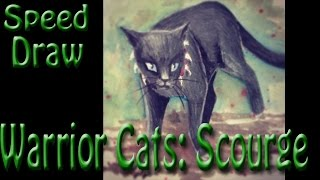 Warrior Cats: Drawing Scourge