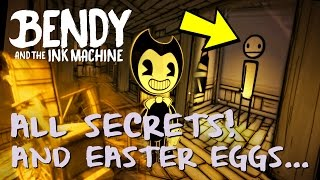BENDY AND THE INK MACHINE | All Secrets and Easter Eggs (Chapter 1 & 2)