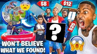 WE WENT TO A CARNIVAL AT THE FLEA MARKET & WONT BELIEVE WHAT WE FOUND!