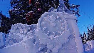 Новогодняя ёлка.Ледяная сказка уходящего года.
