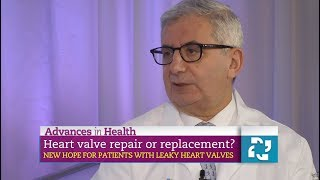 Advances in Health: New Hope for Leaky Heart Valves