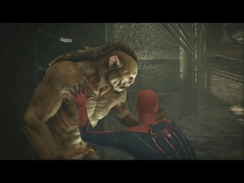 Sewer Rat Fight The Amazing Spider Man Gameplay Xbox