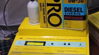 Масло IDEMITSU ZEPRO DL-1 5W-30 проверка на CCS при.. -30гр.