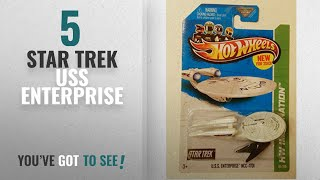 Top 10 Star Trek Uss Enterprise [2018]: 2013 Hot Wheels Hw Imagination - Star Trek - USS Enterprise