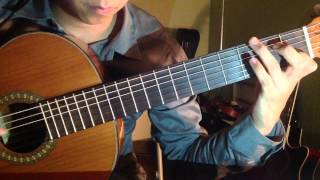 Classical Guitar Piece; Main theme from