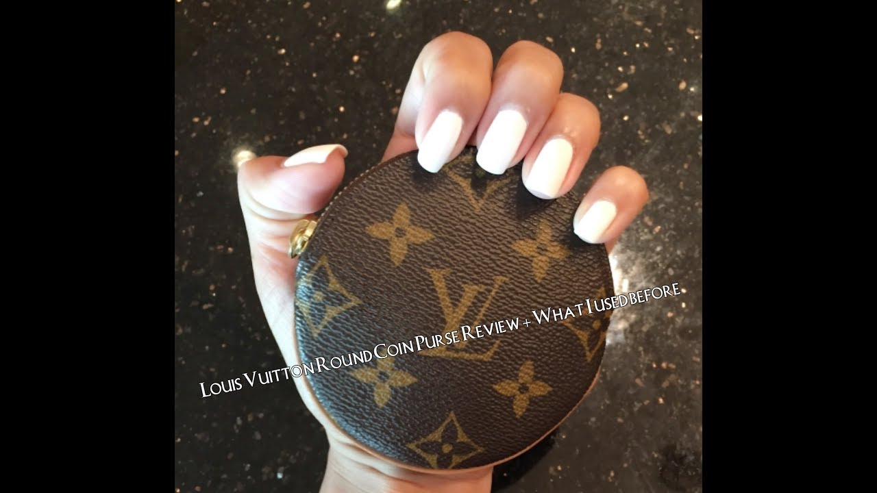Louis Vuitton Round Coin Purse Review + Prior Use + Worth it  Wallet Instyle 1e7cdd54f45b0