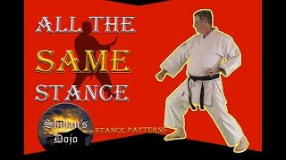 Front, Back, Horse Stance Are All the Same in Martial Arts Training