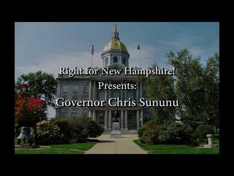 Interview with New Hampshire Governor Chris Sununu on Right for New Hampshire