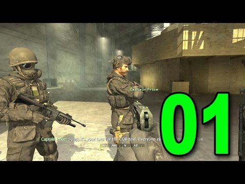 Call of Duty 4 - Part 1 - F.N.G. (Let's Play / Walkthrough / Gameplay)
