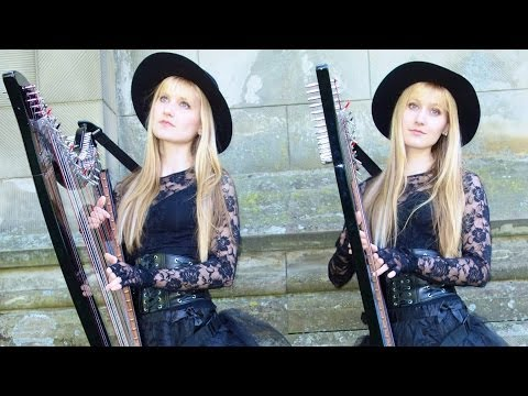 PACHELBEL'S CANON IN D - Harp Twins - Camille and Kennerly