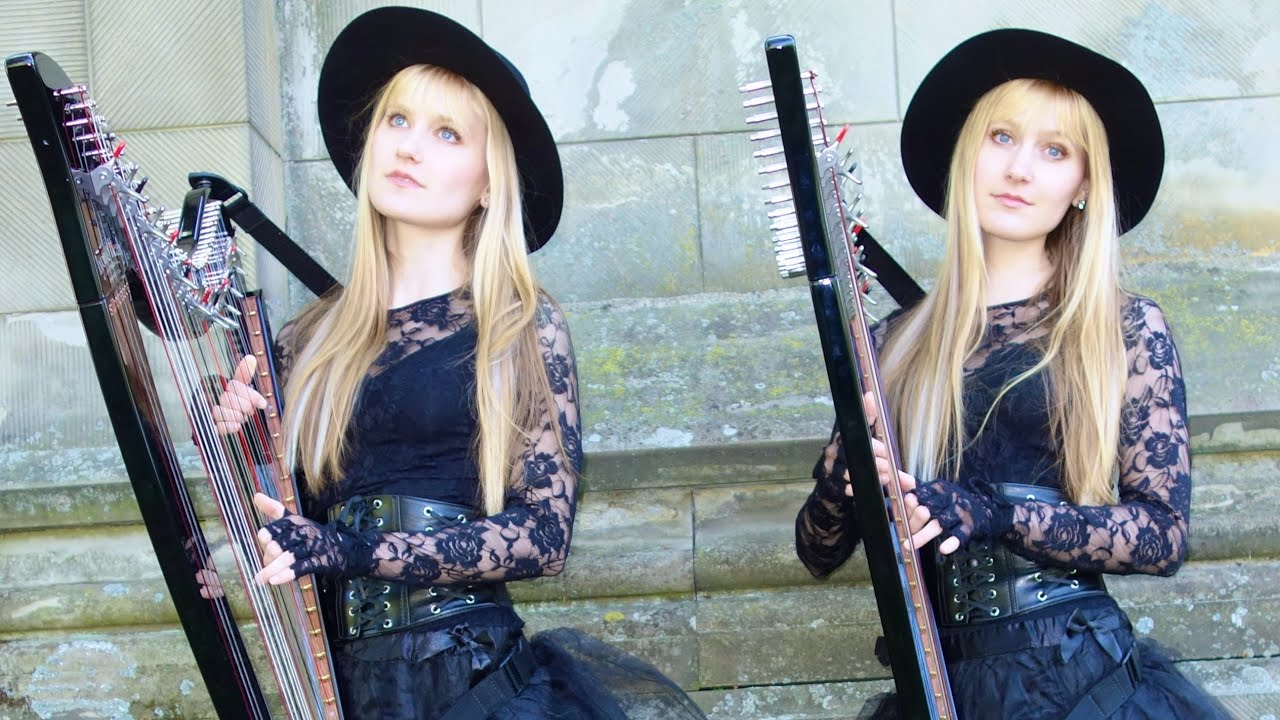 Buy A Harp >> Pachelbel's Canon in D (Harp Twins electric) Camille and ...