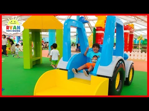Legoland Playground for kids and Fun Amusement Rides!!!!
