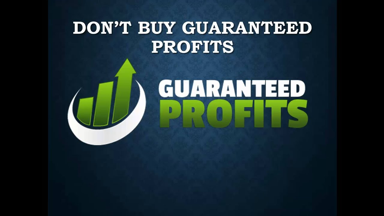 Guaranteed profits with binary options