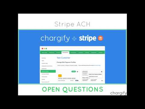Chargify and Stripe: ACH Webinar
