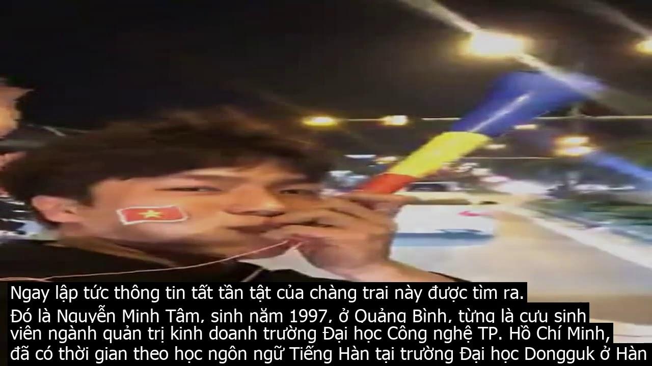 Lee Min Ho phiên bản Việt lọt vào tầm ngắm của hội fan girl khi xuống đường đi bão mừng U22 vô địch