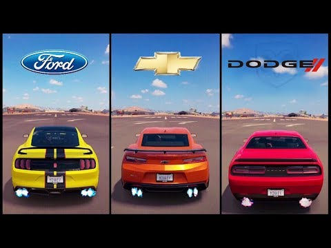 Ultimate Muscle Car Battle Forza Horizon Shelby Vs