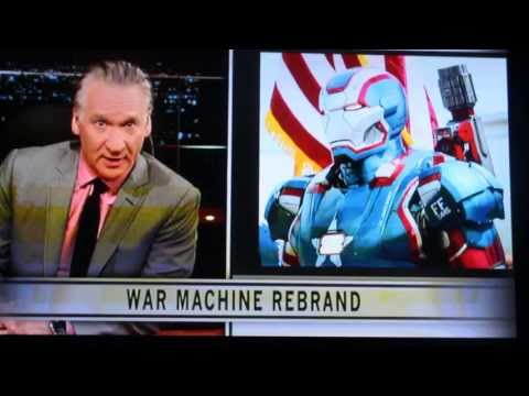 Iron Man 3 Deleted Scenes: Real Time with Bill Maher Segment